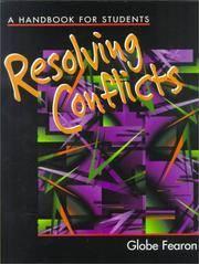 RESOLVING CONFLICTS A HANDBOOK SE 96C