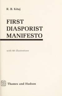 First Diasorist Manifesto