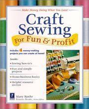 Craft Sewing for Fun and Profit