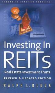 image of Investing in REITS: Real Estate Investment Trusts - Revised and Updated Edition (REIT)