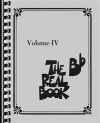 image of The Real Book: B-flat Edition: Vol 4