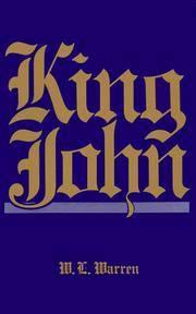King John by  W. L Warren  - Paperback  - from Better World Books  (SKU: 9893503-6)
