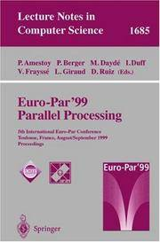 Euro-Par'99 Parallel Processing: 5th International Euro-Par Conference, Toulouse, France,...