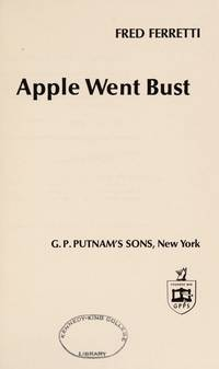 The Year the Big Apple Went Bust