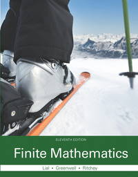 image of Finite Mathematics, Hardcover, 11th edition.