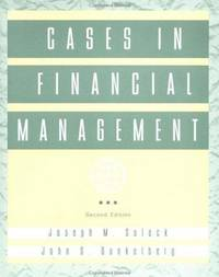 Cases in Financial Management, 2nd Edition by  Joseph M. Sulock - Paperback - from SGS Trading Inc and Biblio.com