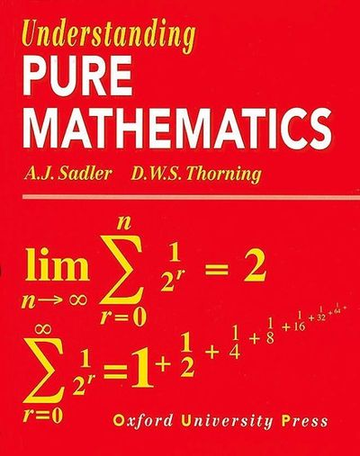 understanding pure mathematics by aj sadler pdf
