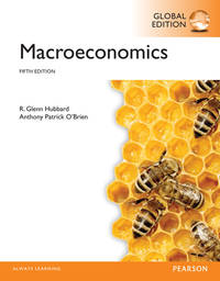 Macroeconomics: Global Edition ( 5th Edition ) by  Anthony Patrick O'Brien R. Glenn Hubbard - Paperback - from knkbooks and Biblio.com