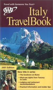 AAA 2001 Italy Travelbook (AAA Italy Travelbook)