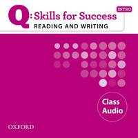 Q Skills For Success Reading And Writing: Intro: Class CD - Used Books