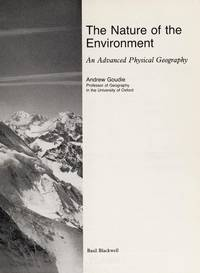 The Nature of the Environment - Advanced Physical Geography