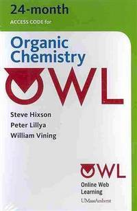 OWL 24-Months Printed Access Card for Organic Chemistry