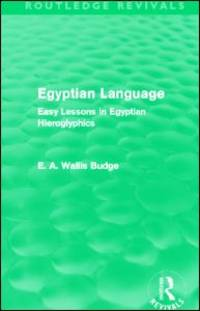 image of Egyptian Language: Easy Lessons in Egyptian Hieroglyphics