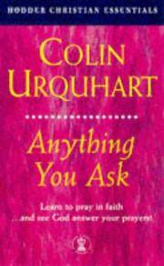 image of Anything You Ask (Hodder Christian Essentials)