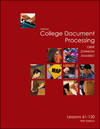 image of Gregg College Keyboarding and Document Processing: Take Home Kit 2 for Word 2000