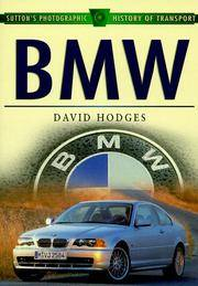 BMW (Sutton's Photographic History of Transport) Hodges, David