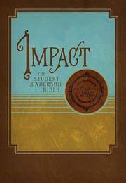 Impact: The Student Leadership Bible,New King James Version, Brown LeatherSopft