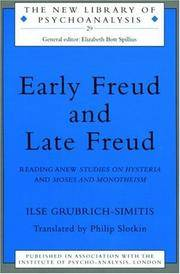 Early Freud and Late Freud (The New Library of Psychoanalysis)
