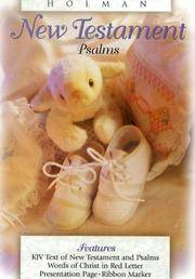 KJV Babys New Testament, White Imitation Leather