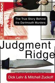 JUDGEMENT RIDGE: The True Story Behind the Dartmouth Murders