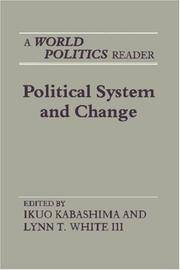 "Political System and Change: A ""World Politics"" Reader (Princeton Legacy Library)"