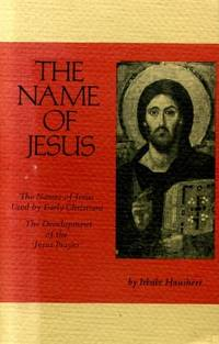 The Name of Jesus (Cistercian Studies)