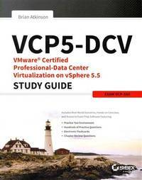 VCP5-DCV Vmware Certified Professional-Data Center Virtualization on  Vsphere 5.5 Study Guide :...