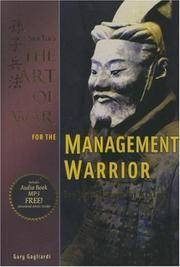 Art of War for the Management Warrior by Sun Tzu - Paperback - 2007-10-01 - from Ergodebooks (SKU: SONG1929194447)