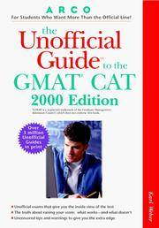 UG/The GMAT CAT (UNOFFICIAL GUIDE TO THE GMAT CAT)