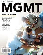 MGMT 2008 Edition (with Review PREP Cards)