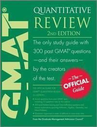 GMAT Quantitative Review GMAC (Graduate Management Admission