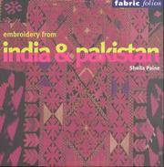 Embroidery from India and Pakistan