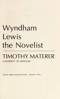 Wyndham Lewis, the Novelist