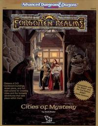 Cities of Mystery : AD & D Roleplaying, Forgotten Realms Accessory, Fr8