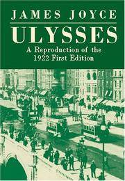Ulysses: A Reproduction of the 1922 First Edition by James Joyce - Paperback - reprint - 2002-09-18 - from Bacobooks and Biblio.com
