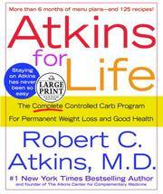 image of Atkins for Life (Random House Large Print)