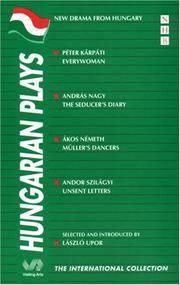Hungarian Plays (NHB International Collection)