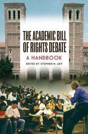 The Academic Bill of Rights Debate
