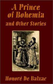 image of Prince of Bohemia and Other Stories, A