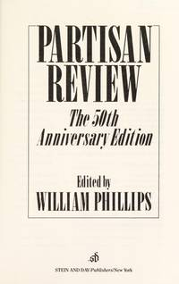 Partisan Review The 50th Anniversary Edition