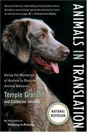 image of Animals in Translation: Using the Mysteries of Autism to Decode Animal Behavior (A Harvest Book)