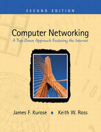 image of Computer Networking: A Top-Down Approach Featuring the Internet