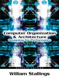 Computer Organization and Architecture: Designing for Performance  Paperback by  W Stallings - Hardcover - 2006 - from Anybook Ltd and Biblio.com