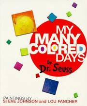 image of My Many Colored Days Board Book