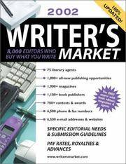 2002 Writer's Market: 8,000 Editors Who Buy What You Write