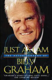 image of Just as I am: The Autobiography of Billy Graham