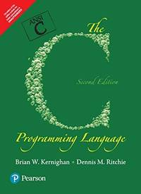 image of The C Programming Language: (Second Edition)