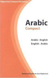 Arabic-English/English-Arabic Compact Dictionary (Hippocrene Compact Dictionaries) by  Mahmoud Gaafar - Paperback - 2004 - from Your Online Bookstore and Biblio.com