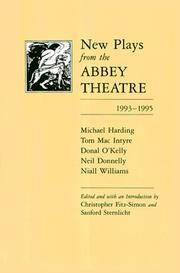 New Plays from the Abbey Theatre 1993-1995.