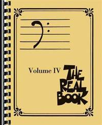 image of The Real Book: Bass Clef Edition: Vol 4